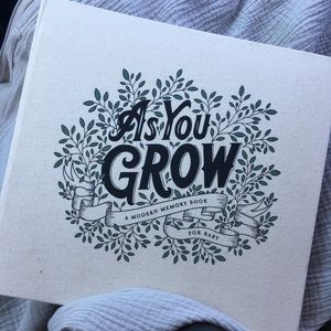As you grow baby book by korie herold